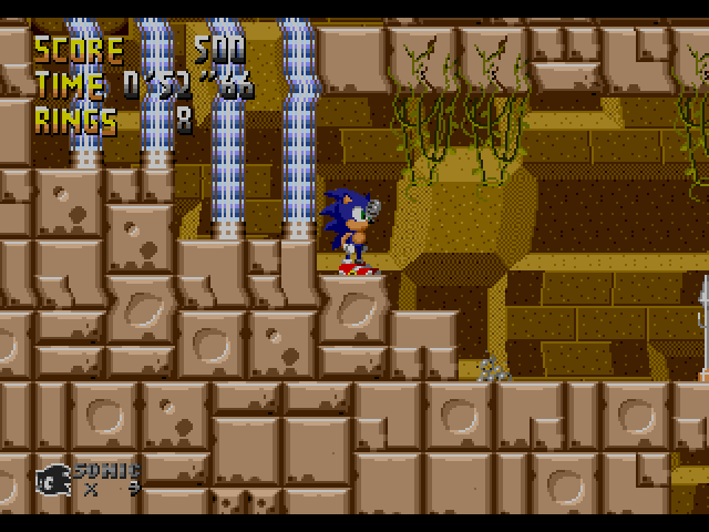 Sonic the Hedgehog (USA, Europe) [Hack by Team Lost Land v4